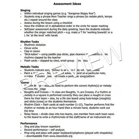 Assessment-ideas