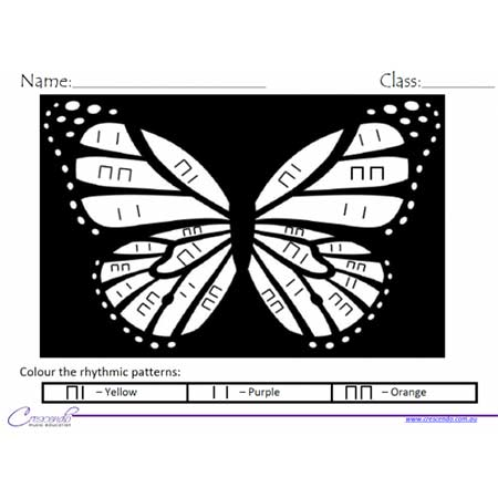 Butterfly-Colour-by-Rhythm