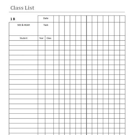 Class-list-template