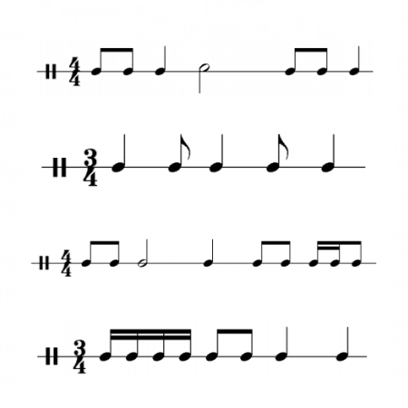 Cross out a note