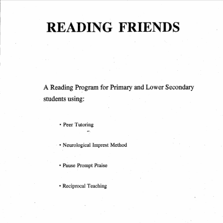 Reading Friends by David Waterworth