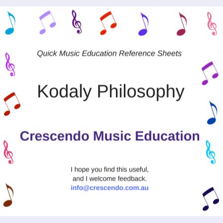 QMERS - Kodaly Philosophy