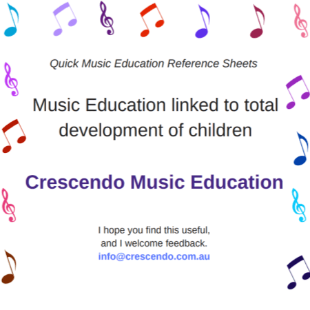 QMERS - Music education linked to total development of children