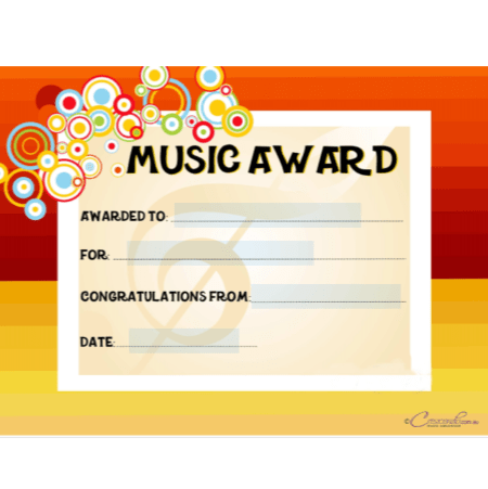 Amazing Awards - Editable (1)